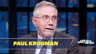 Paul Krugman Is Nervous About Bernie Sanders Embracing the Socialist Label