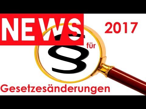 GESETZESÄNDERUNGEN 2017  Das ändert sich jetzt in Deutschland 🌞 NEWS TIME 🌞 HD