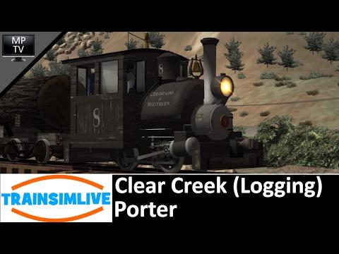 Train Simulator - Clear Creek (Logging), Porter