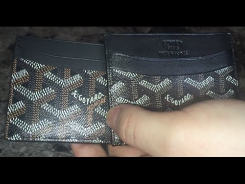 GOYARD  Real vs. Fake - How To Authenticate 🕵🏼 - YouTube d5d97552df8