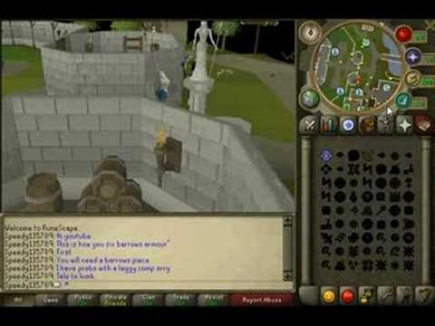 How To Fix Barrows Armour Youtube