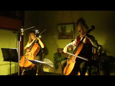 Simple Gifts (Lord of the Dance) for 2 Cellos. Georg Mertens & Ella Jamieson