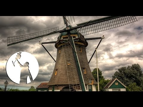 Holland - The Land of Windmills 4K