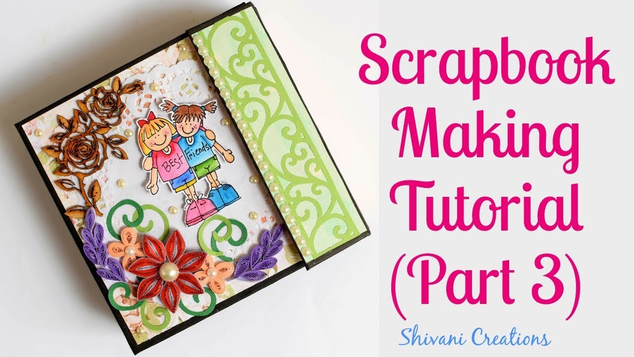 how to decorate scrapbook with photos