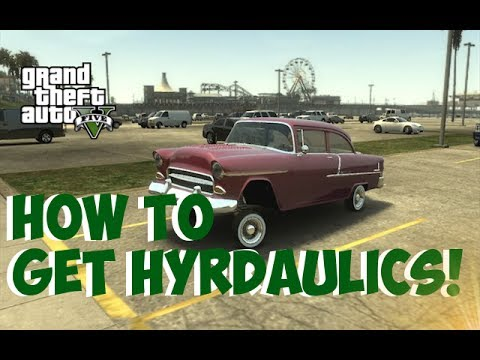 How To Get Hydraulic Cars Online Gta 5 Mods