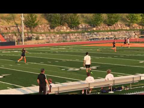 TIMPVIEW VARSITY GIRLS  SOCCER 2017 SCRIMMAGE BOYS 2ND HALF