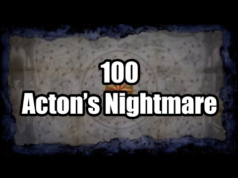 Layout and Loot from 100 Acton's Nightmare Maps