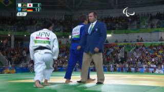 Judo | Japan v Germany | Men's -73kg Bronze Medal Contest B | Rio 2016 Paralympic Games
