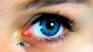Niebieskie soczewki kolorowe PartyEye A AQUA / Blue Color Contact Lenses
