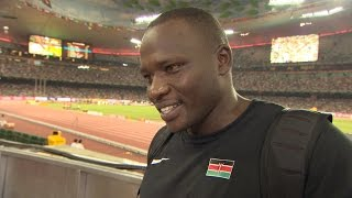 WCH 2015 Beijing - Julius Yego KEN Javelin Throw Final Gold