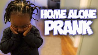 I LEFT MY 2 YEAR OLD SON HOME ALONE !!!!