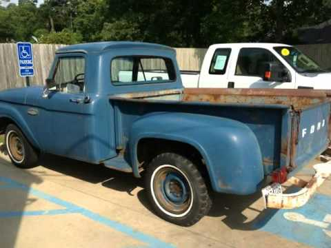 1965 Ford F100 Stepside V6 Manual Denham Springs