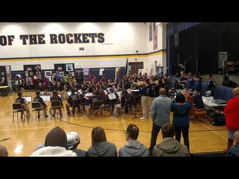 Streetsboro Middle School Jazz Band at 2016 Art Show 3