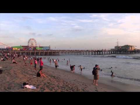 Santa Monica, California - Sunset HD (2015)