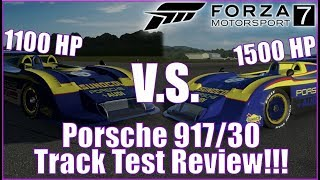 Porsche 917/30 Track Test Review and Power Comparisons
