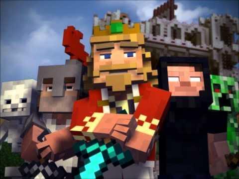 """Fallen Kingdom"" - A Minecraft Parody of Coldplay's Viva la Vida 10 hours"