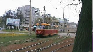 Запорожье, трамваи у депо / Zaporozhye, trams at the depot