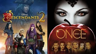 Descendants Vs Once Upon A Time 🍎 Children And Parents Of Disney - Star News