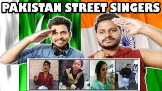 People who no one hears | Indian Reaction On Pakistani Street Singers | Krishna Views