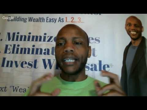 Black Wall Street Week pt 2 Special Guest Andre C. Hatchett of the Black Real Estate School