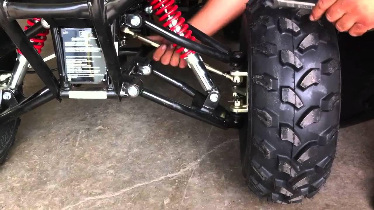 Tao Tao Atv Wheel Alignment Video At Speedwaysatv Com