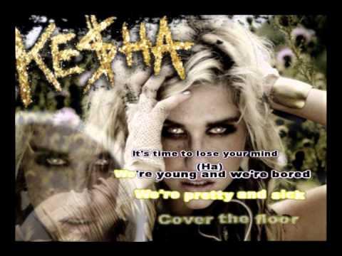 Ke$ha/Kesha  - Blow [Karaoke/Instrumental] With Lyrics