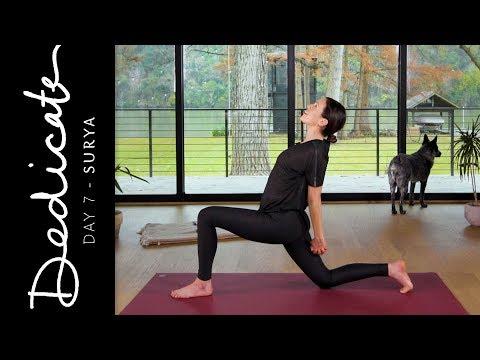 Dedicate – Day 7 – Surya  |  Yoga With Adriene