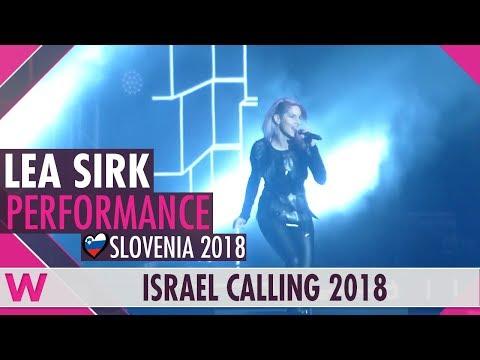 """Lea Sirk """"Hvala, ne!"""" (Slovenia 2018) LIVE @ Israel Calling 2018"""