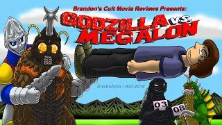 Brandon's Cult Movie Reviews: GODZILLA VS. MEGALON