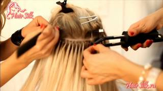 HairSilk.ru - итальянское наращивание (горячее)