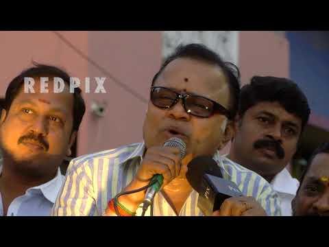 radha ravi speech at ak nagar tamil live news, tamil news today, tamil, latest tamil news, redpix