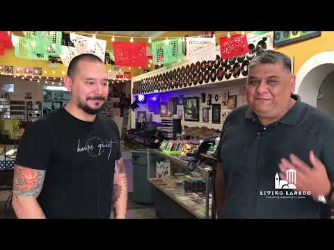 Living Laredo visits Second Chance Music Shop in Historic Downtown Laredo!