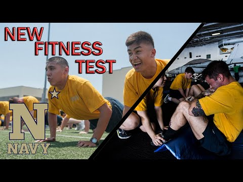 NEW US Navy Fitness Test 2020 - HARDER THAN MARINES?!?!
