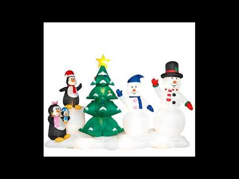 Gemmy Christmas Light Show Song's