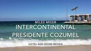 Deluxe room with ocean view review-InterContinental Presidente Cozumel Resort Spa, Cozumel Mexico