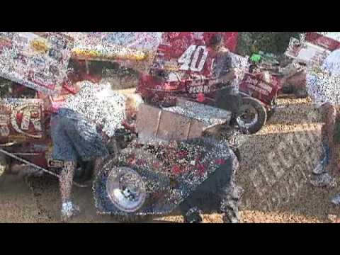 Sprint Cars At Camden Motor Speedway Youtube