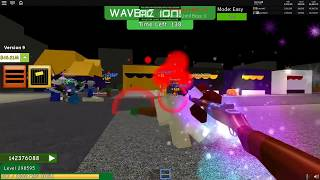 ROBLOX • Zombie Attack • Weapons Part 1 • First 10 Guns