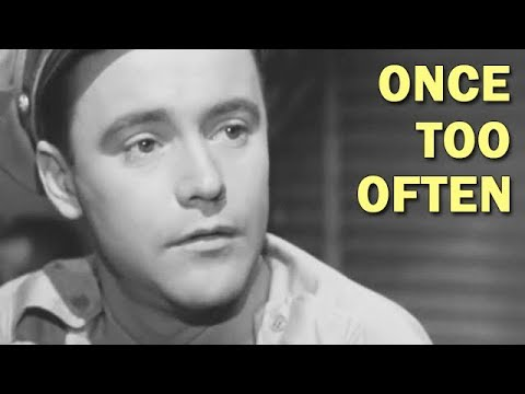 Funny Safety Training Film for Soldiers on Leave | Once Too Often | 1950