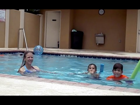 Super Secret pool surveillance video Mom Ethan Chris Nick