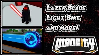 Roblox Mad City How to pick up the lightsaber (read the description)