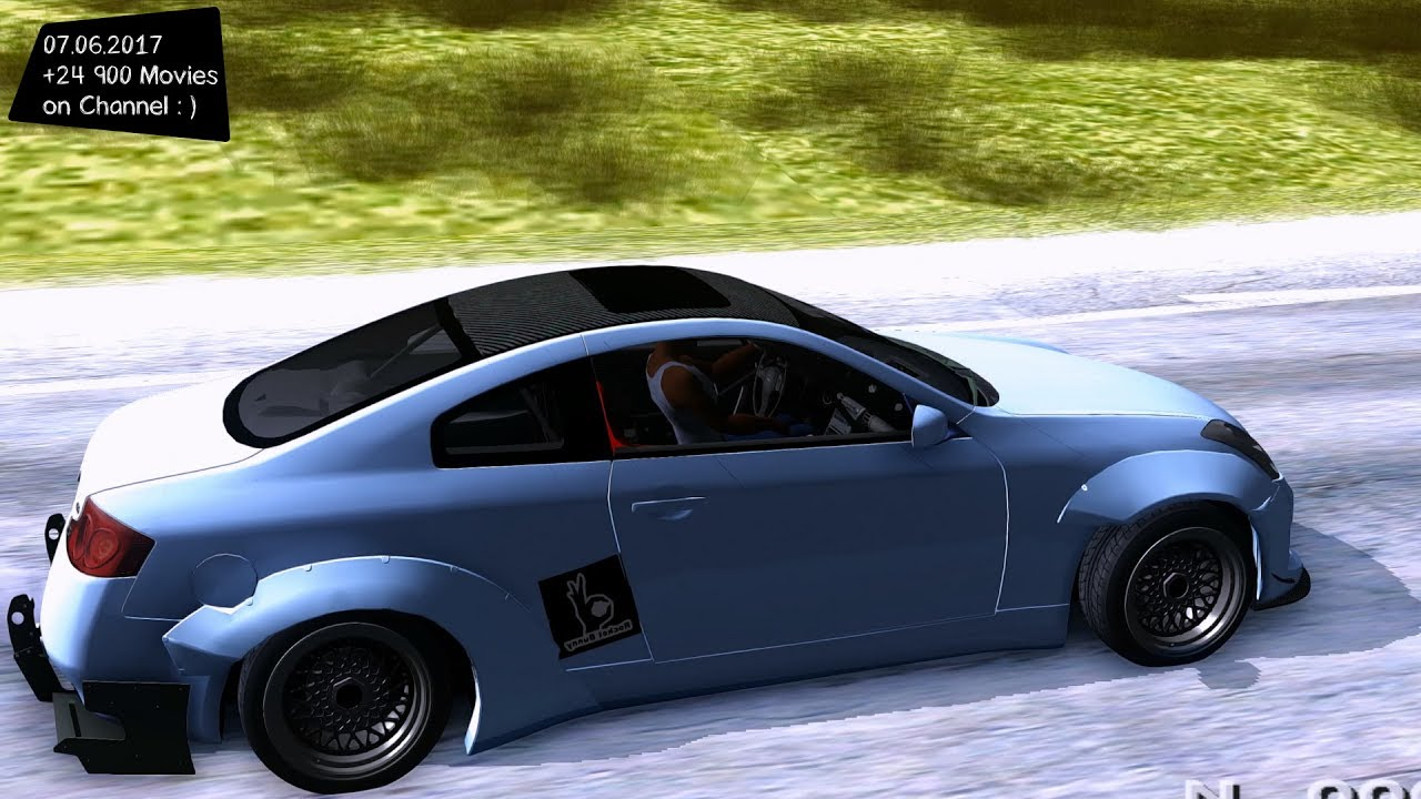 infiniti g35 rocket bunny new enb top speed test gta mod. Black Bedroom Furniture Sets. Home Design Ideas