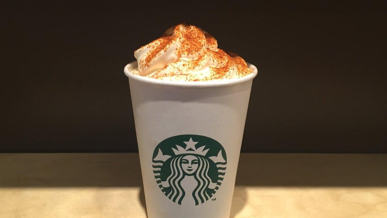 Starbucks amazing hot chocolate Food review - YouTube