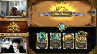 Hearthstone Global Games  Россия - Австрия 16.05.2017 (1/2)