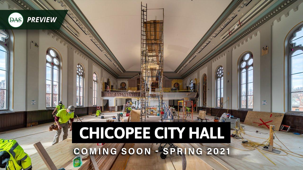Chicopee City Hall - TEASER #2 - Built By DAS