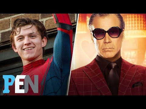 Tom Holland Tests Spider-Man Action Figures, Will Ferrell On The House | EWS | Entertainment Weekly