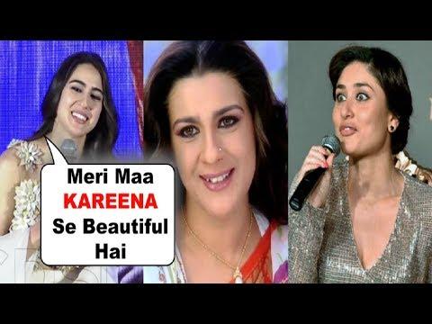 Sara Ali Khan REACTION On Looking Similar With Amrita Singh