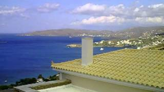 Andros greece and wind!!!.AVI