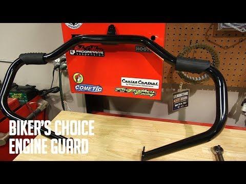Biker's Choice Engine Guard Install