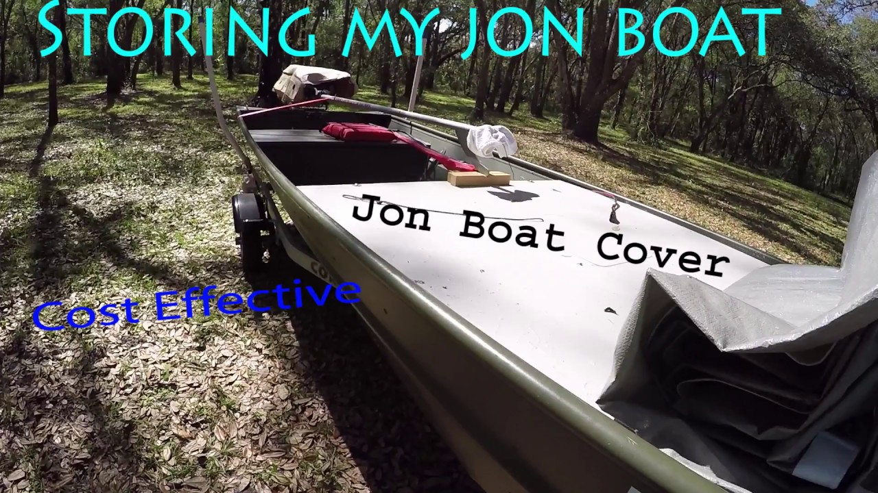 Affordable, Functioning Jon Boat Cover Idea
