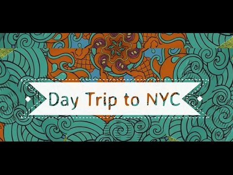 Vlog: Day Trip to NYC - Sep 26, 2015 | Hello Mindy